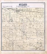 Fulton Township, Stockton, Muscatine County 1874